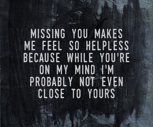 missing you, love, and sad image