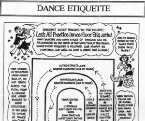 dance, etiquette, and thoughts image