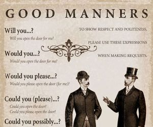 etiquette, tutorial, and thoughts image