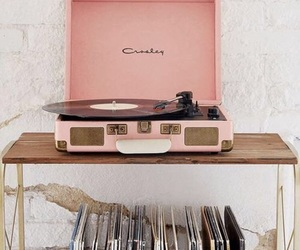 vintage, music, and pink image