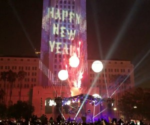 los angeles, new year 2018, and dtla image