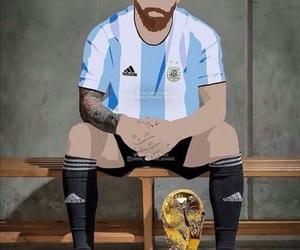 argentina, messi, and leomessi image