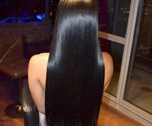 braids, bun, and curls image