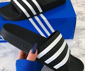 💕, ❥ tłᒪᒪeᖇ$ᗯłᖴe¥¥ ❥, and adidas slides image