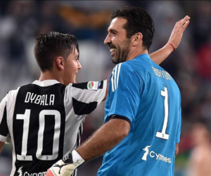 Juventus, buffon, and dybala image