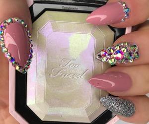 nail art, love, and nails image