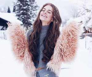 beautiful, winter, and clothes image
