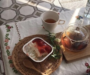 food, aesthetic, and tea image