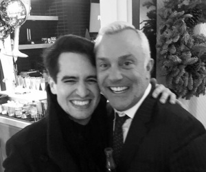 brendon urie, panic! at the disco, and john feldmann image