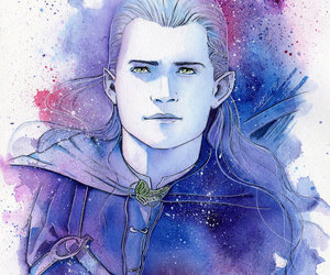 hobbit, Legolas, and the lord of the rings image