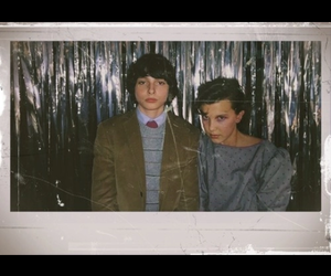 love them, mike and eleven, and stranger things image