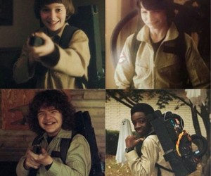Halloween, happy faces, and stranger things image