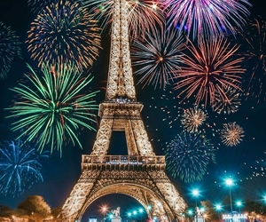 fireworks, photography, and happy new year image
