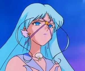 anime, blue, and sailor moon image