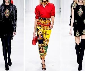 Donatella Versace, fashion week, and Versace image