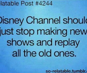 disney, disney channel, and old image