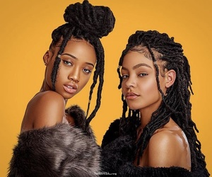 dreads, black girls, and black girl magic image
