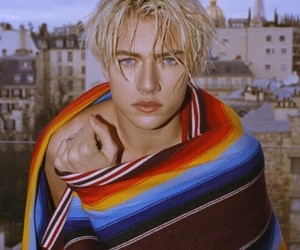 lucky blue smith, blue, and model image