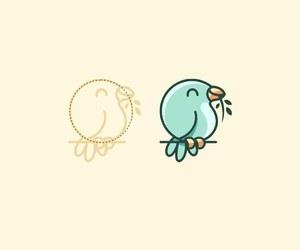 adobe, art, and birds image