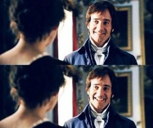 pride and prejudice, mr darcy, and smile image