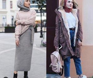 furry coat hijab image