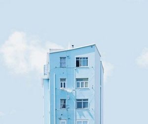 aesthetic, pastel blue, and photography image