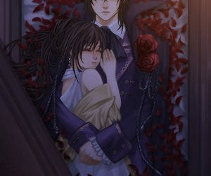 anime, vampire knight, and kaname kuran image