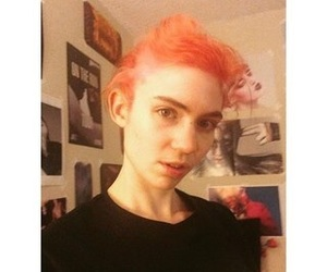 grimes, claire boucher, and art angels image