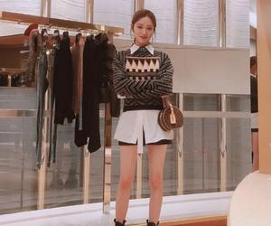 korean, model, and cute image