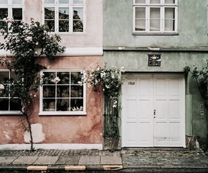 house, aesthetic, and flowers image