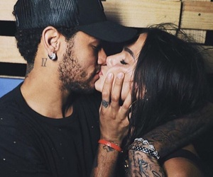 couple, neymar, and bruna marquezine image