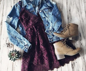 boots, burgundy, and clothing image