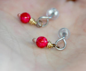 etsy, jewelry, and stud earrings image