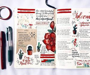 bullet, diary, and bujo image