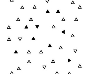 background, phone, and triangles image