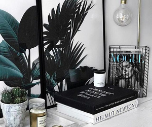 interior, plants, and book image