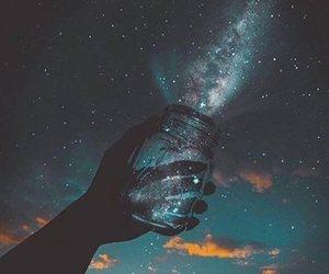 stars, sky, and galaxy image