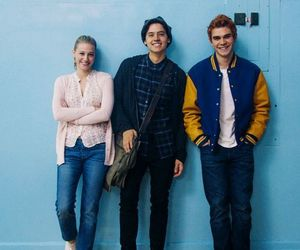 riverdale, cole sprouse, and betty cooper image