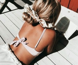 hair, style, and summer image