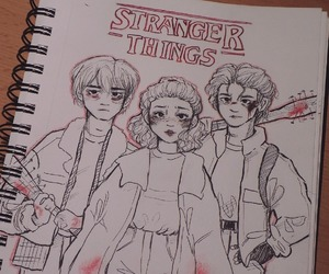 drawing and stranger things image