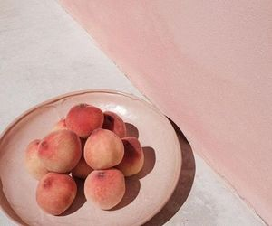 peach, pink, and aesthetic image