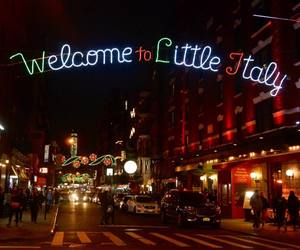 food, usa, and little italy image