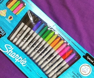 markers, stationary, and papeleria image
