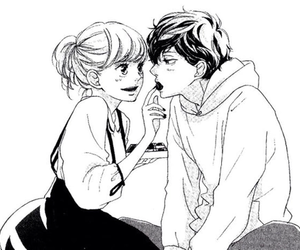manga, anime, and ao haru ride image