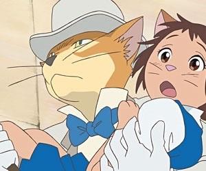 猫の恩返し, ジブリ, and anime image