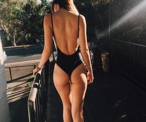 bikini, black, and Sunny image