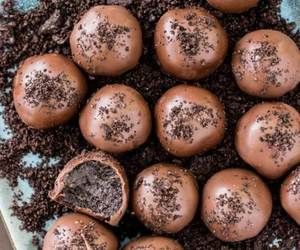 delicious, chocolate, and food porn image