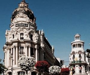 city, beautiful, and madrid image