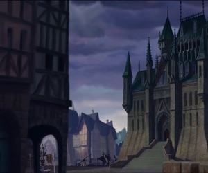 justice, palace, and hunchback of notre dame image