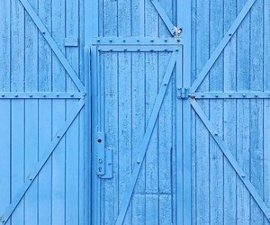 blue, blue door, and color image